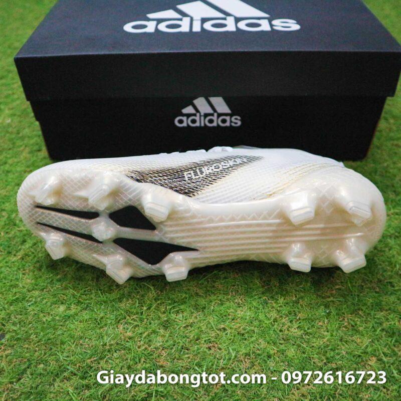 Adidas x20.1 ghosted fg trang vach den fake 1 (4)