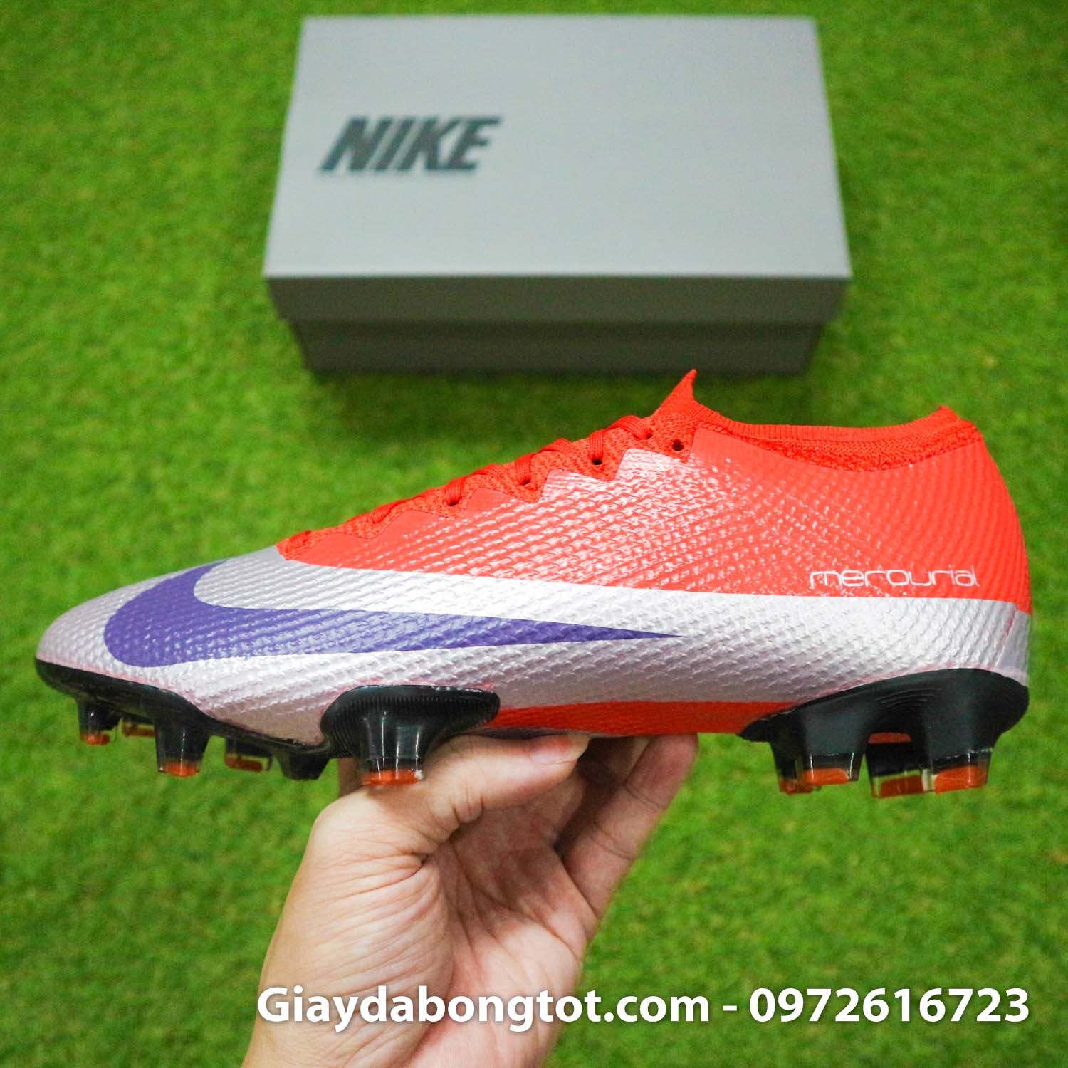 Giay bong da nike mercurial vapor 13 elite fg do bac future dna (13)