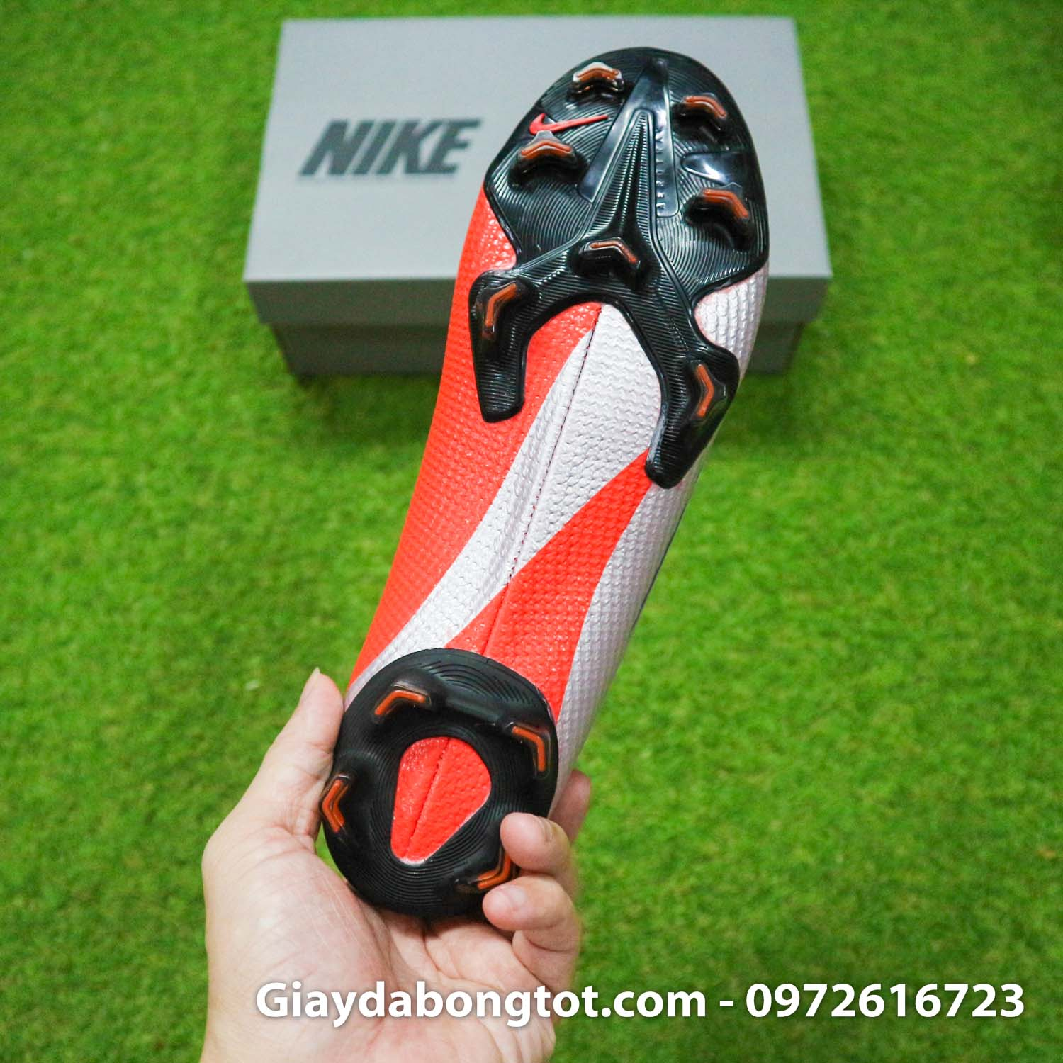 Giay bong da nike mercurial vapor 13 elite fg do bac future dna (15)