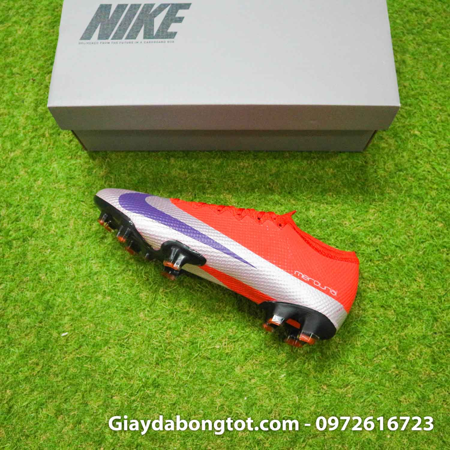Giay bong da nike mercurial vapor 13 elite fg do bac future dna (16)