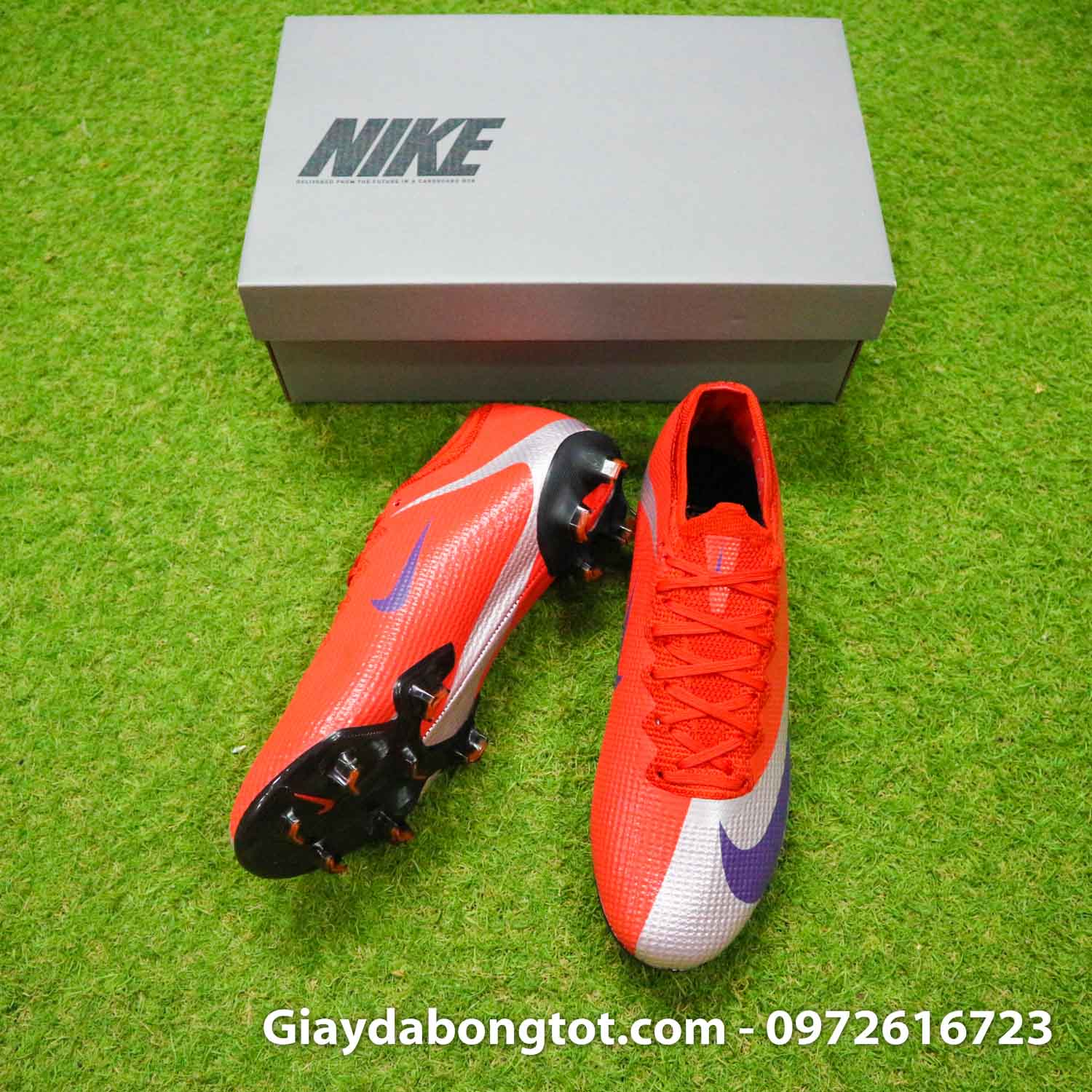 Giay bong da nike mercurial vapor 13 elite fg do bac future dna (5)