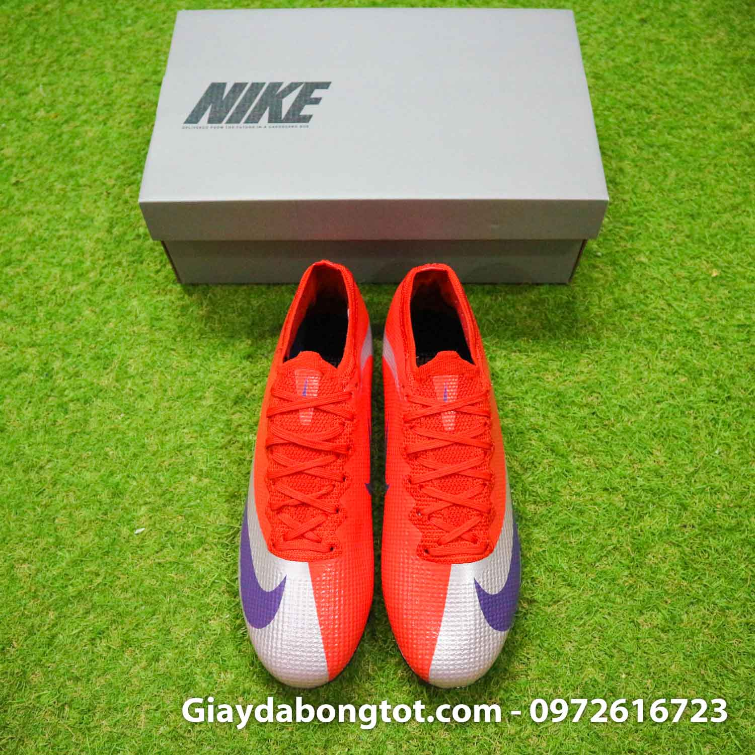 Giay bong da nike mercurial vapor 13 elite fg do bac future dna (8)