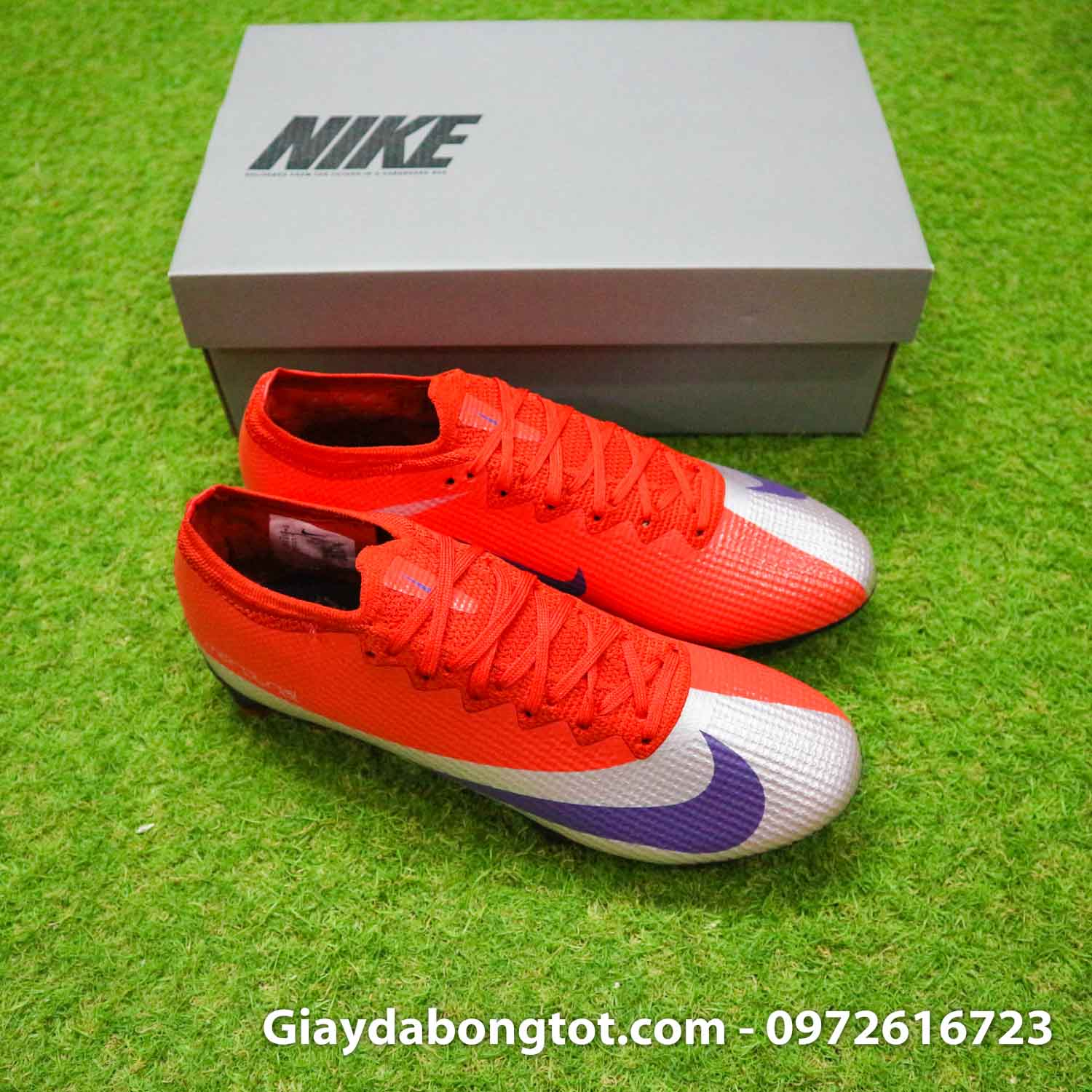 Giay bong da nike mercurial vapor 13 elite fg do bac future dna (9)