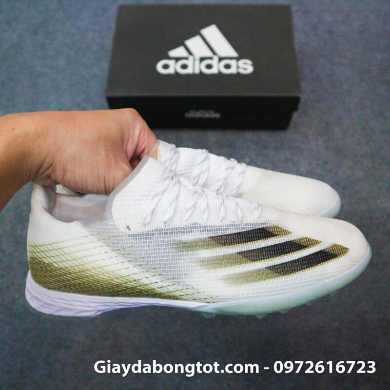 Giay da banh Adidas x ghosted .1 tf trang vach den (8)