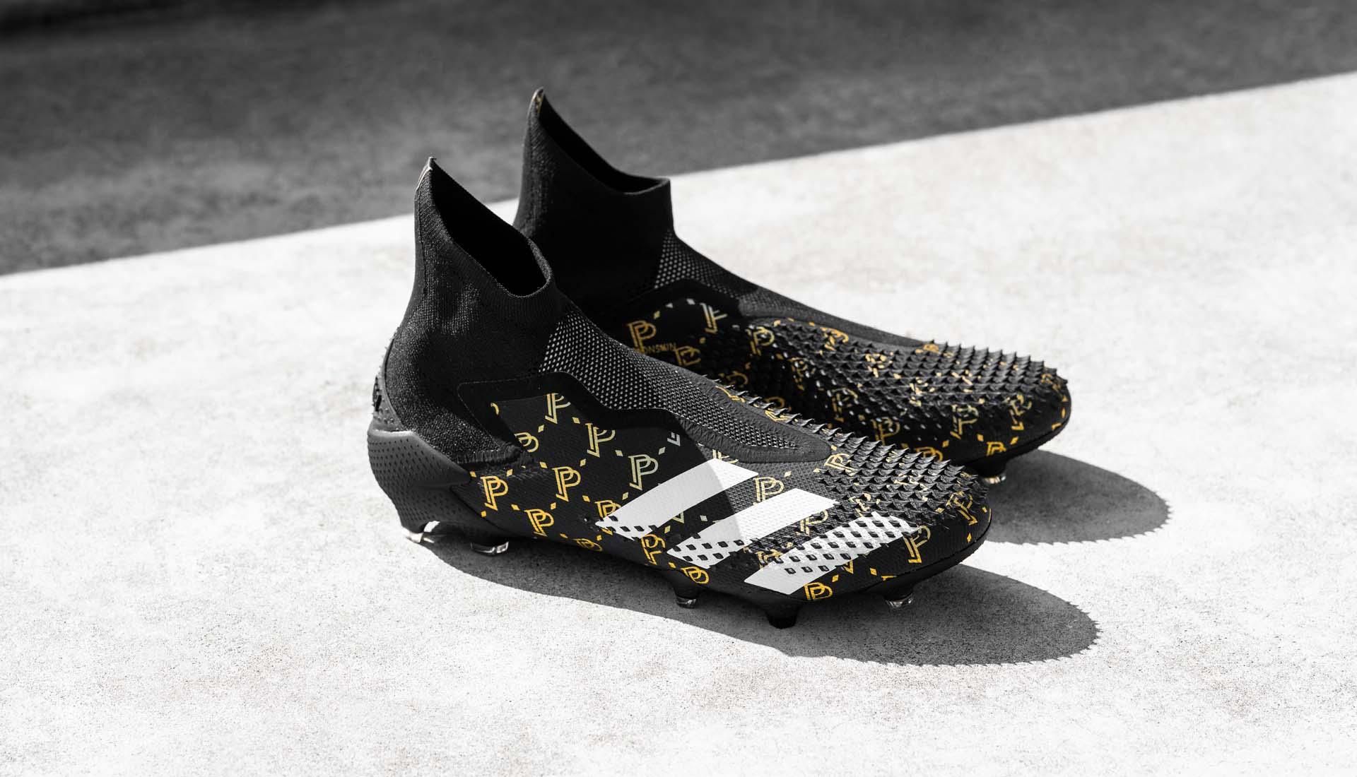 Vẻ đẹp của mẫu giày Adidas Predator 20+ FG Pogba Season 7 đen thửa riêng cho Pogba