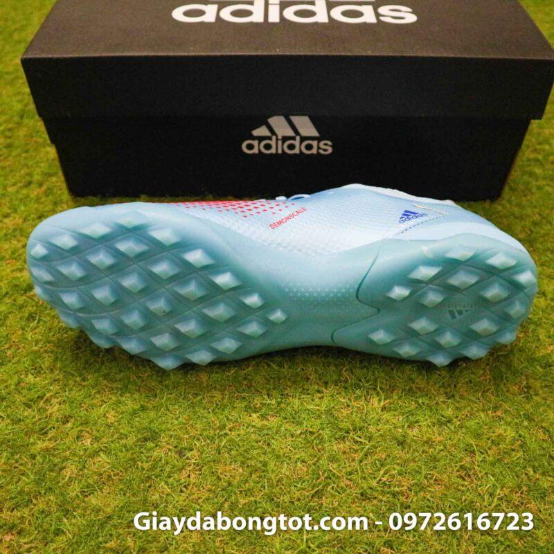 Giay da banh adidas predator 20.3 tf xanh nhat co thap (4)