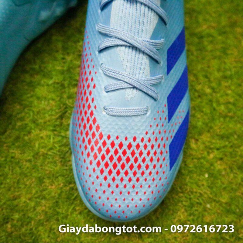 Giay da banh adidas predator 20.3 tf xanh nhat co thap (7)