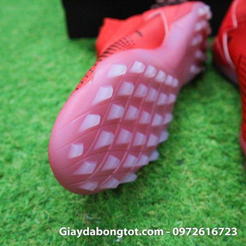 Giay da bong khong day adidas predator 20 tf do vach den de trong (6)