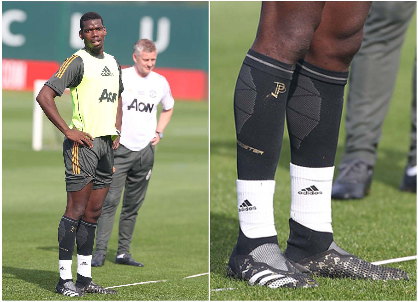 Giày bóng đá Adidas Pogba với nhiều thiết kế đặc biệt mang dấu ấn của Pogba
