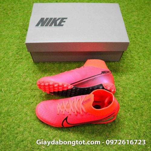 Giay da bong tre em co cao nike mercurial superfly 7 tf do (2)