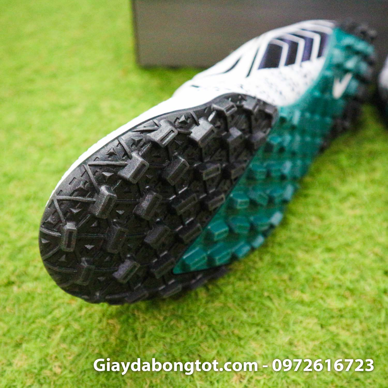 Nike Mercurial Vapor 13 Pro tf trang den dream speed 3 (6)