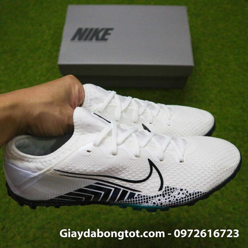 Nike Mercurial Vapor 13 Pro tf trang den dream speed 3 (9)