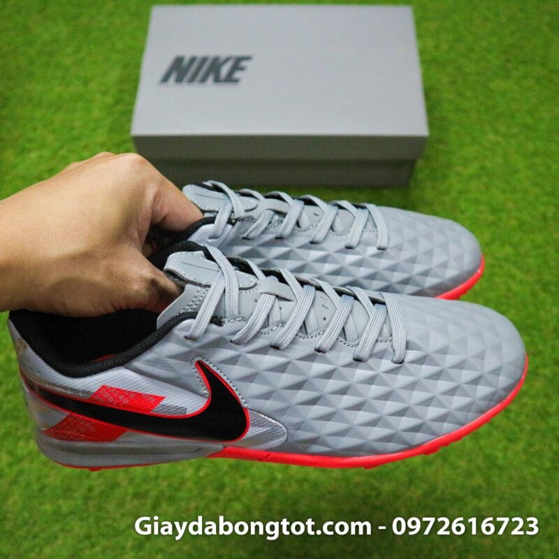 Nike tiempo legend 8 pro tf xam do vach den super fake (13)