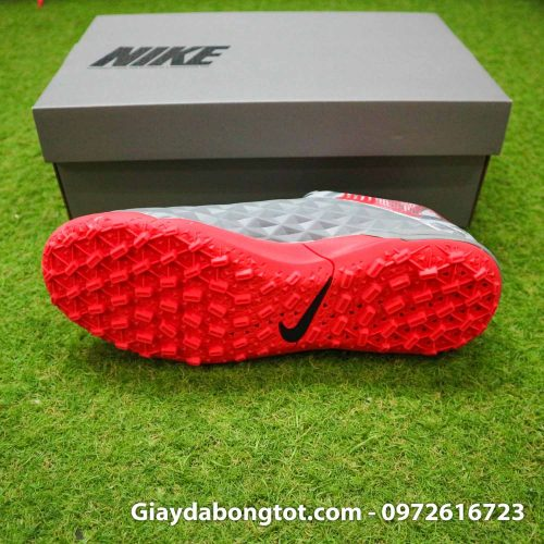 Nike tiempo legend 8 pro tf xam do vach den super fake (4)