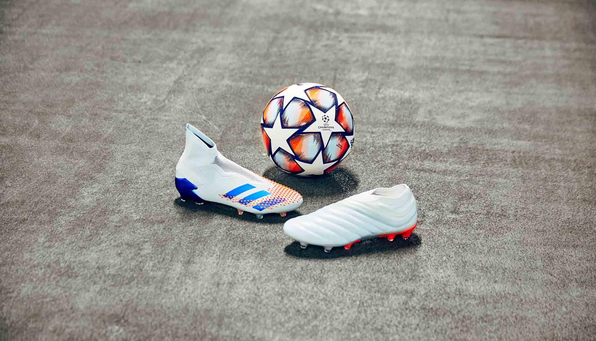 Adidas Glory Hunter pack được ra mắt để chuẩn bị cho mùa giải mới cúp C1 châu Âu