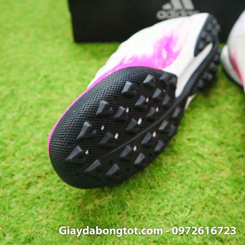 Giay bong da adidas x19.3 tf trang hong 2020 (6)