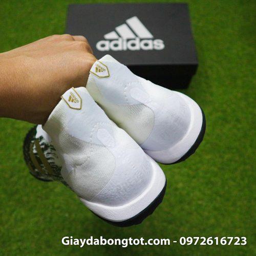 Giay da banh khong day adidas predator 20+ tf den trang gai nhon (1)
