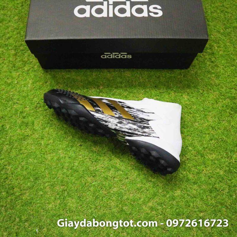 Giay da banh khong day adidas predator 20+ tf den trang gai nhon (10)