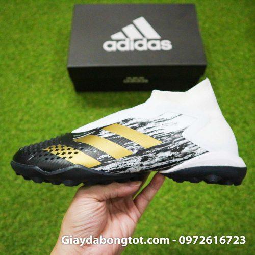 Giay da banh khong day adidas predator 20+ tf den trang gai nhon (12)