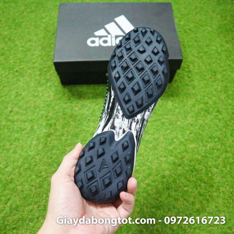 Giay da banh khong day adidas predator 20+ tf den trang gai nhon (14)