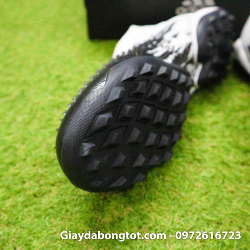 Giay da banh khong day adidas predator 20+ tf den trang gai nhon (6)