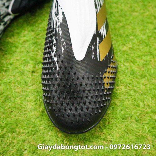 Giay da banh khong day adidas predator 20+ tf den trang gai nhon (7)