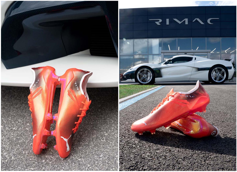 Giày đá bóng Puma Ultra SL x Rimac siêu nhẹ được ra mắt với chỉ 412 đôi