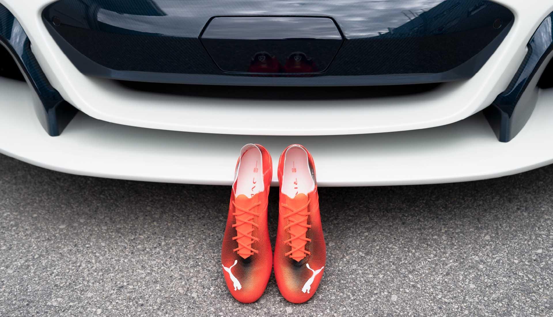 Giày đá bóng Puma siêu nhẹ Ultra SL x Rimac được bán với mức giá hơn 11tr VNĐ