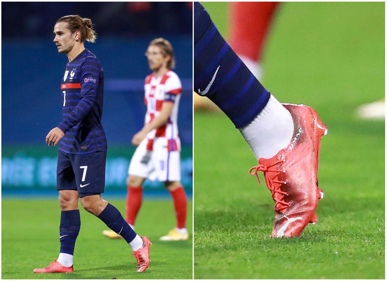 Antoine Griezmann sử dụng mẫu giày đá bóng nhẹ nhất thế giới