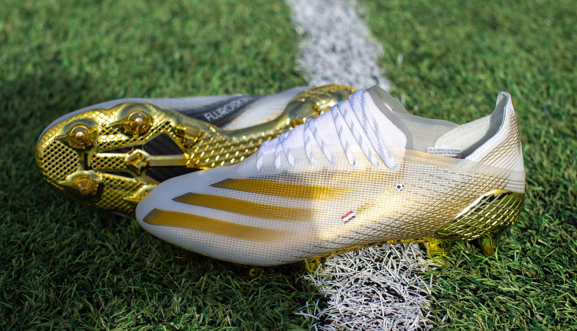 Mẫu giày đá bóng Adidas thửa riêng cho Mohamed Salah với thiết kế đẹp mắt