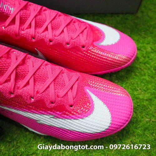 Nike mercurial superfly 7 elite tf mbappe hong pink vach trang (10)
