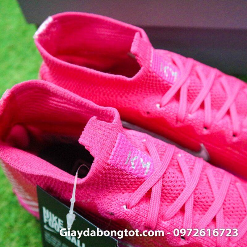 Nike mercurial superfly 7 elite tf mbappe hong pink vach trang (11)