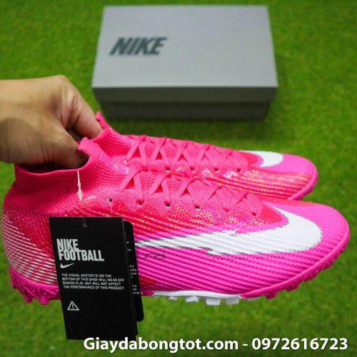 Nike mercurial superfly 7 elite tf mbappe hong pink vach trang (12)