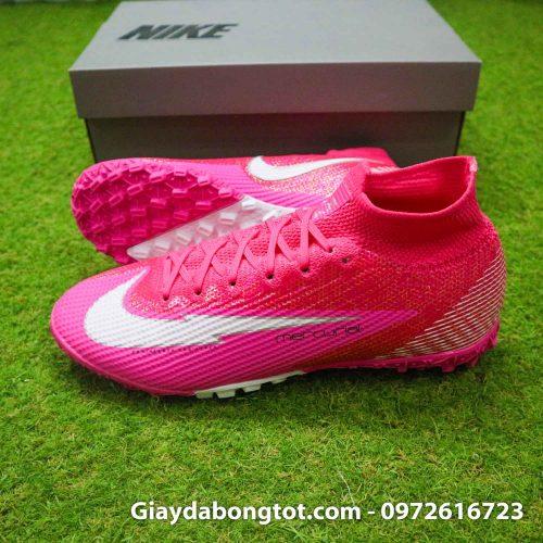 Nike mercurial superfly 7 elite tf mbappe hong pink vach trang (3)