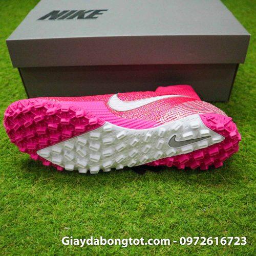 Nike mercurial superfly 7 elite tf mbappe hong pink vach trang (4)