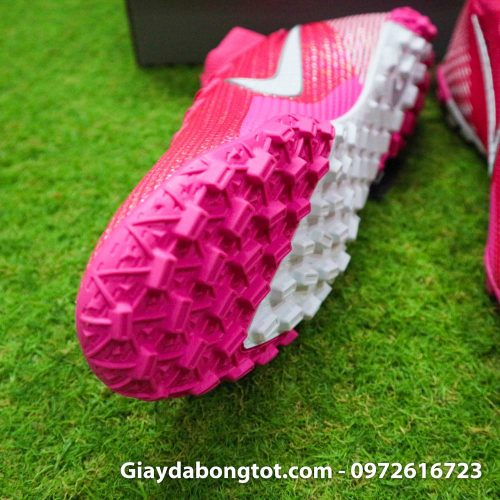 Nike mercurial superfly 7 elite tf mbappe hong pink vach trang (6)