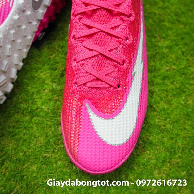 Nike mercurial superfly 7 elite tf mbappe hong pink vach trang (7)