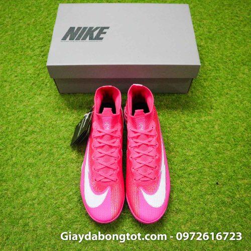 Nike mercurial superfly 7 elite tf mbappe hong pink vach trang (8)