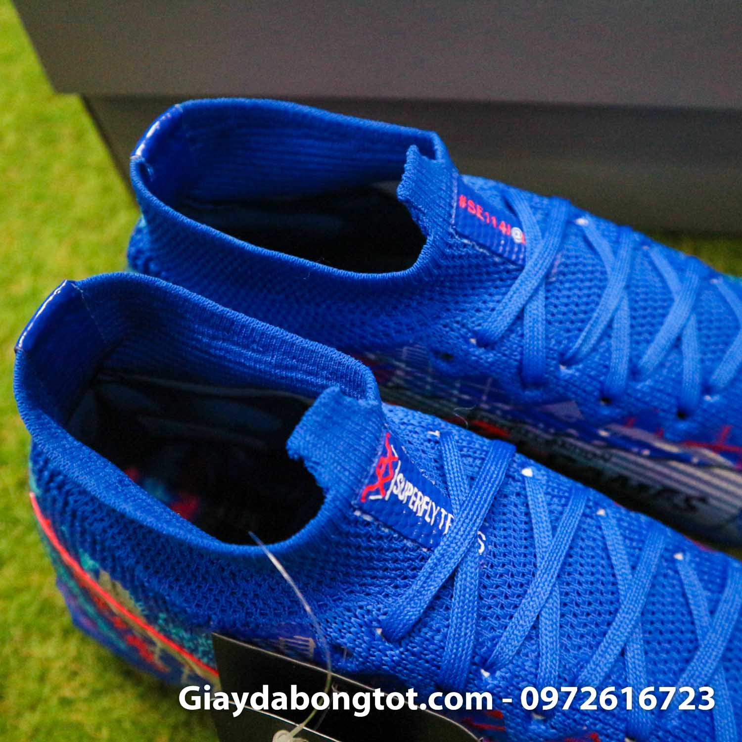 Nike mercurial superfly 7 elite tf xanh duong sancho se11 (11)