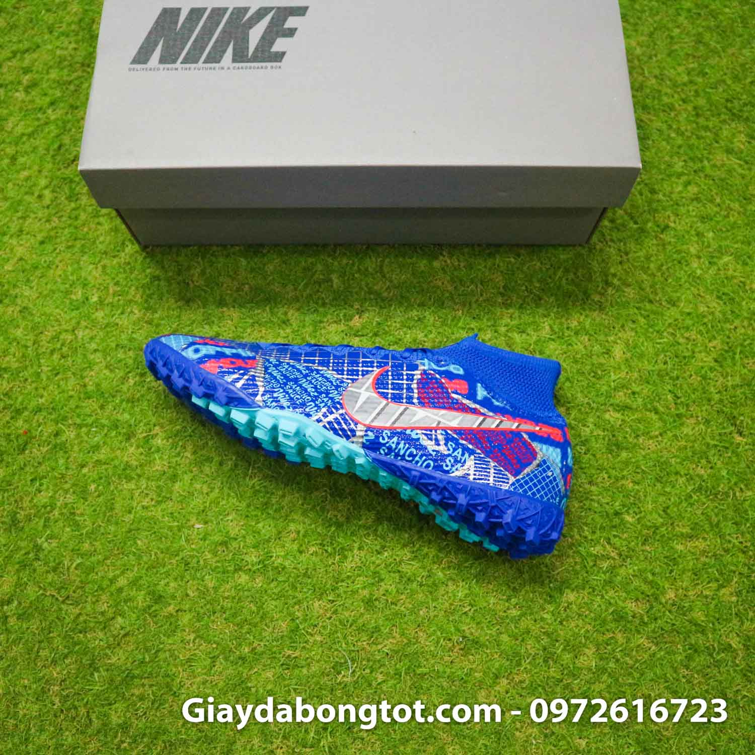Nike mercurial superfly 7 elite tf xanh duong sancho se11 (12)