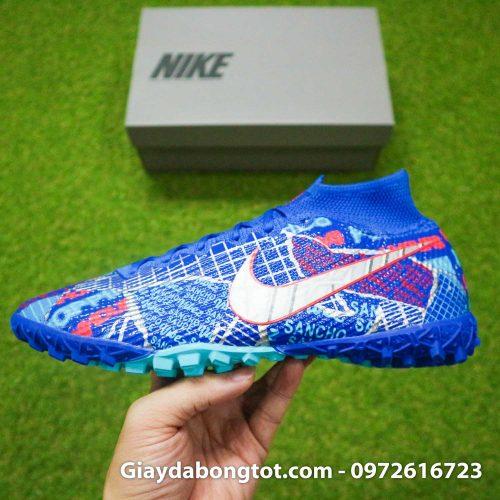 Nike mercurial superfly 7 elite tf xanh duong sancho se11 (14)