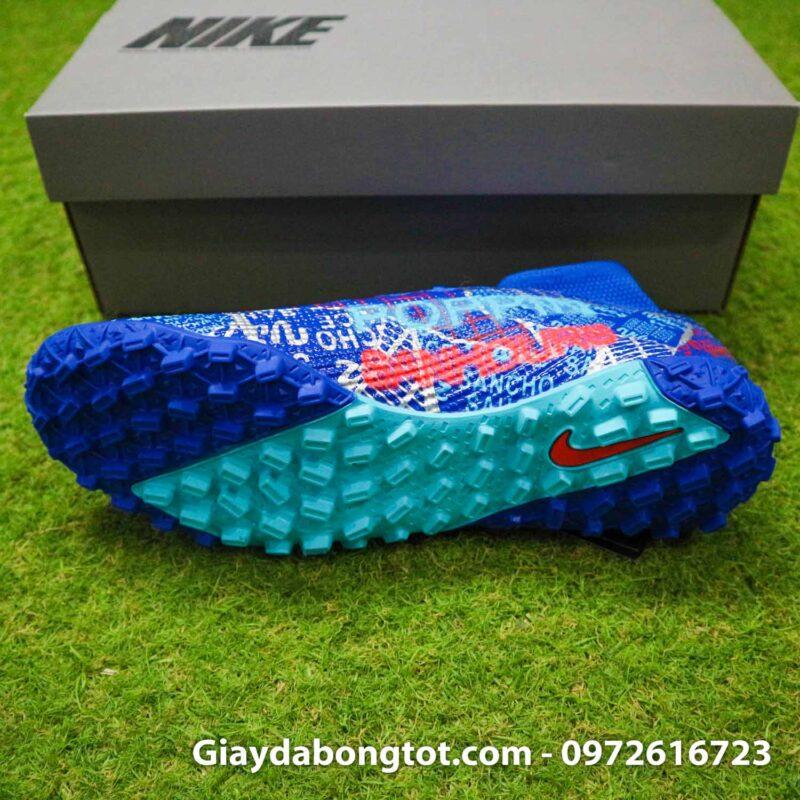 Nike mercurial superfly 7 elite tf xanh duong sancho se11 (4)