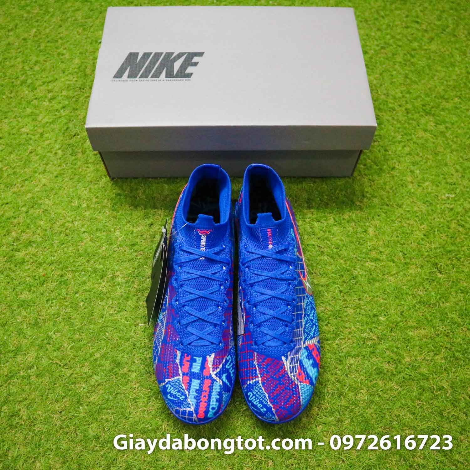 Nike mercurial superfly 7 elite tf xanh duong sancho se11 (8)