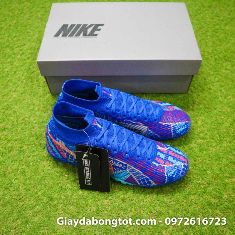 Nike mercurial superfly 7 elite tf xanh duong sancho se11 (9)