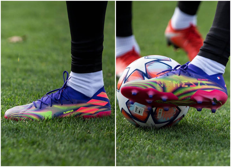 Vẻ đẹp của gam màu mới Adidas Nemeziz .1 sắp được ra mắt vào cuối năm nay