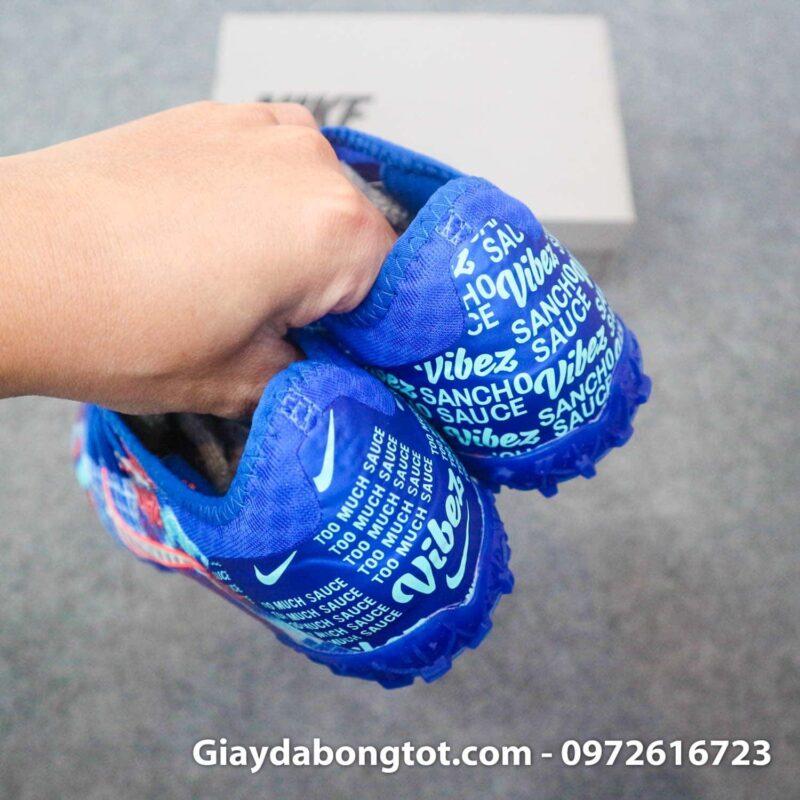 Giay bong da da vai nike mercurial vapor 13 pro tf xanh duong sancho (1)