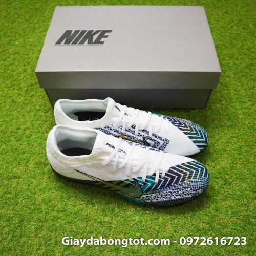 Giay da banh da vai nike mercurial vapor 13 pro tf dream speed 3 cr7 den trang (7)