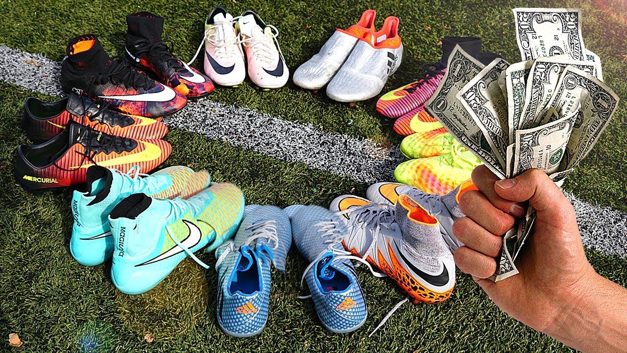 Giày đá bóng dưới 1 triệu có rất nhiều loại gây nên nhiều băn khoăn khi lựa chọn
