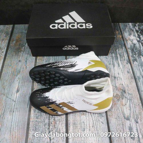 Adidas predator 20.3 tf trang den vach vang superfake (2)