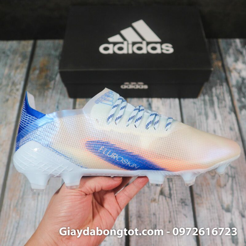 Adidas x ghosted .1 fg trang xanh duong superfake (10)